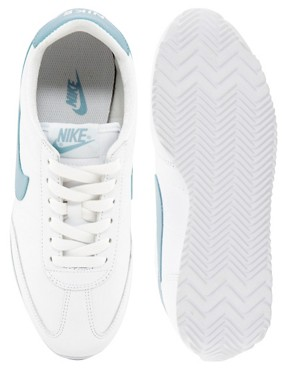 Image 2 of Nike Oceania White Leather Trainers