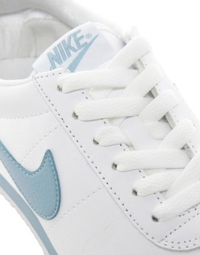 Image 4 of Nike Oceania White Leather Trainers