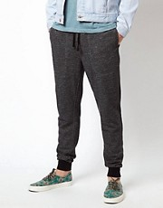 ASOS Skinny Sweatpants With Contrast Waistband