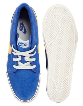 Image 3 ofNike Toki Suede Trainers