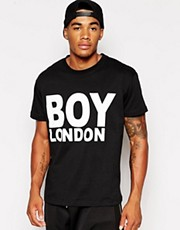 BOY London T-Shirt with Logo Print