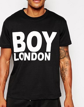 Image 3 ofBOY London T-Shirt with Logo Print