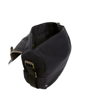 Image 2 ofASOS Canvas Hunting Satchel