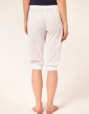 Image 2 of Esprit White Capsule Capri Pants