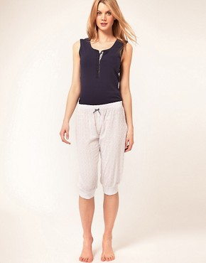 Image 1 of Esprit White Capsule Capri Pants