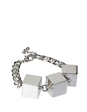 ASOS Smooth Cube Bracelet