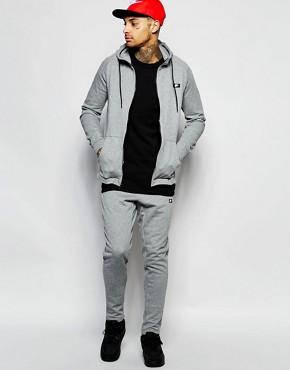 Nike Modern Tracksuit Set In Grey 805052-091