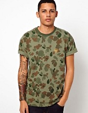 10 Deep T-shirt Printed Camo