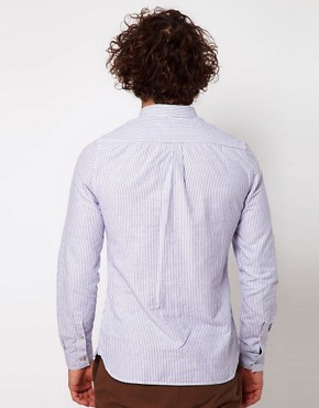 Image 2 of ASOS Oxford Shirt With Stripe