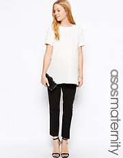 ASOS Maternity Slim Crop Trouser