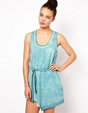 Won Hundred Nova Acid Washed Out Mini Dress