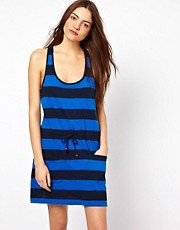 French Connection Striped Toledo Scoop Neck Dress
