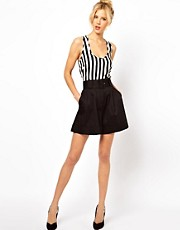 ASOS Belted Shorts With High Waist