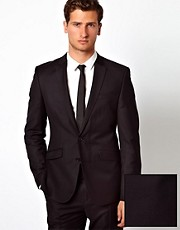 ASOS Slim Fit Suit Jacket in 100% Wool