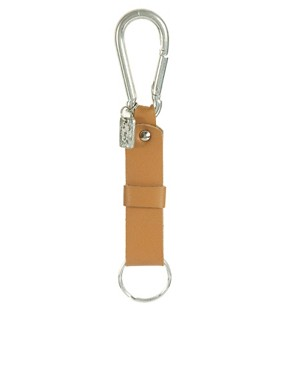 Image 1 ofASOS Leather Lanyard