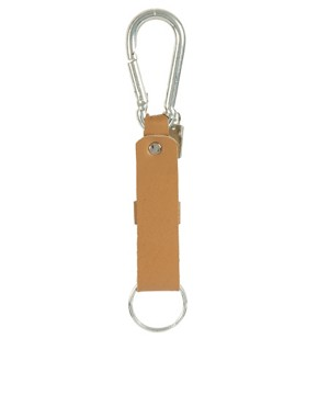 Image 2 ofASOS Leather Lanyard