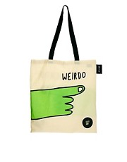 Bolso tote Weirdo Lazy Oaf