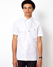 Vivienne Westwood MAN Oxford Shirt with Short Sleeves