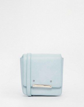 ASOS Metal Detail Cross Body Bag