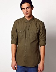 River Island Sergeant Shirt