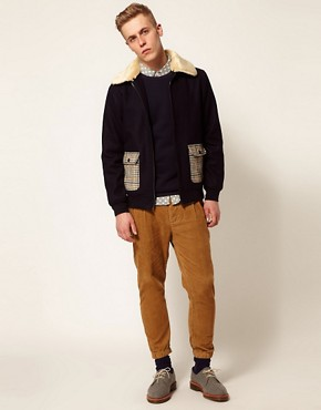 Image 4 ofSelf Shearling Flight Jacket