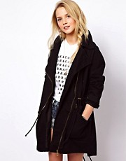 ASOS Biker Parka
