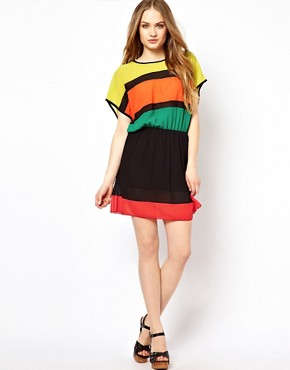 Image 4 ofJovonnista Striped Dress