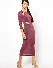 Three Floor Victory Bodycon Midi Dress