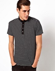 Religion Striped Polo Shirt