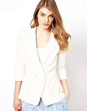 Ted Baker Sharp Blazer with Double Button Detail