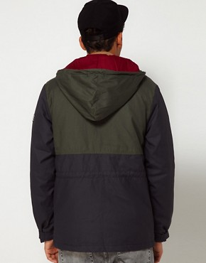 Image 2 ofThe Hundreds Parka Wildcat 2 Tone