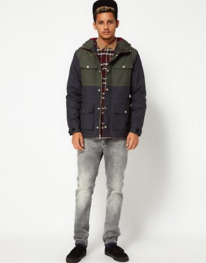 Image 4 ofThe Hundreds Parka Wildcat 2 Tone