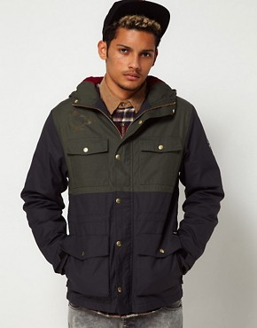 Image 1 ofThe Hundreds Parka Wildcat 2 Tone