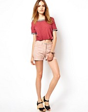 Maison Scotch Light Weight Cotton Boyfriend Shorts