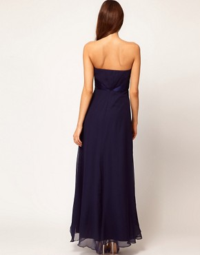 Image 2 ofCoast Michegan Bandeau Maxi Dress