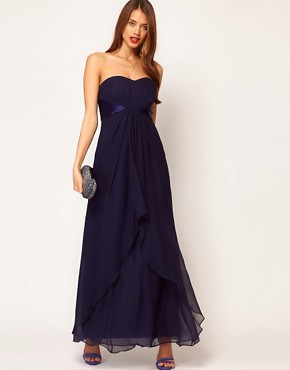 Image 4 ofCoast Michegan Bandeau Maxi Dress