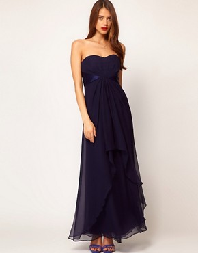 Image 1 ofCoast Michegan Bandeau Maxi Dress