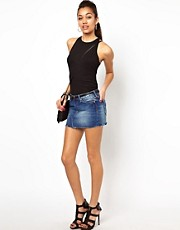 River Island Denim Mini Skirt