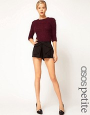 ASOS PETITE Exclusive Bow Front Shorts