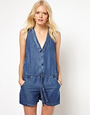 7 For All Mankind – Kurzer Overall
