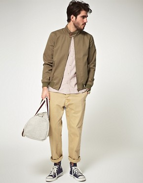 Image 4 ofASOS Harrington Jacket