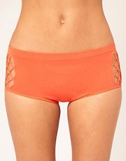Mark Fast Reptile Mesh High Waisted Short