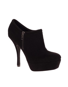 Image 1 ofASOS TARA Zip Platform Shoe Boots