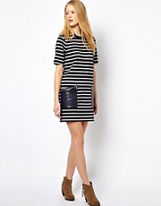 Whistles Sasha Stripe Pocket Dress