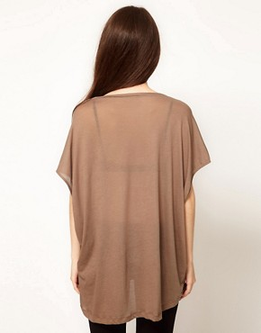 Image 2 ofFrench Connection Wingscape Oversized T-Shirt