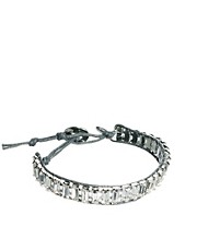 Orelia Baguette Stone Friendship Bracelet