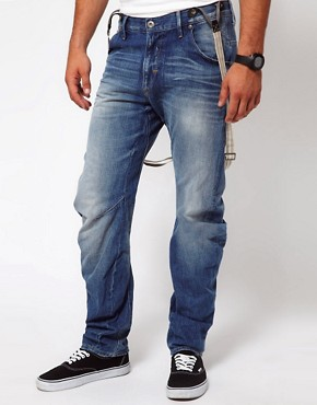 Image 1 ofG Star Jeans Tapered Arc 3D With Braces
