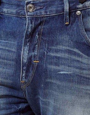 Image 3 ofG Star Jeans Tapered Arc 3D With Braces