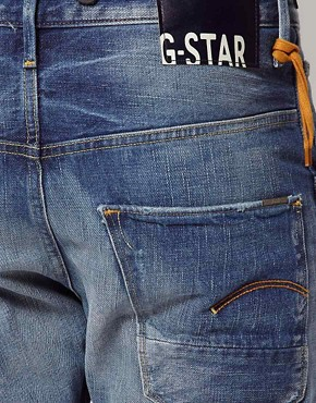 Image 4 ofG Star Jeans Tapered Arc 3D With Braces