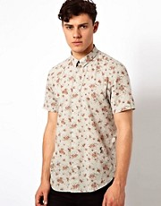 Camisa con estampado floral Mourn de Religion